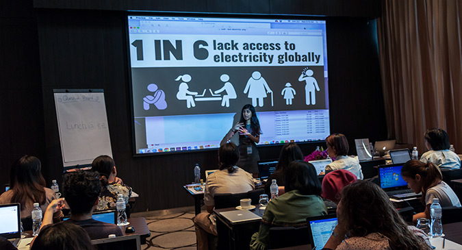 UN Women Pioneering for Gender-sensitive Infographics in Asia and the Pacific
