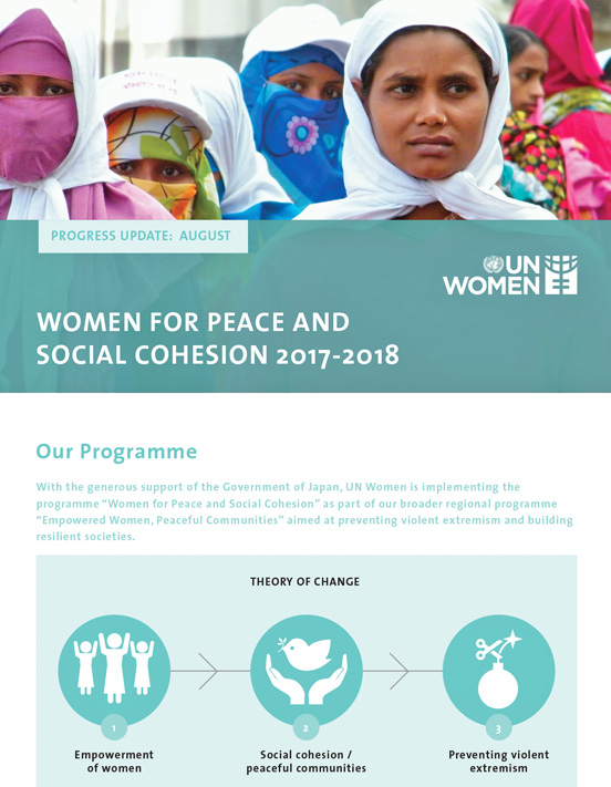 Women for Peace and Social Cohesion 2017-2018