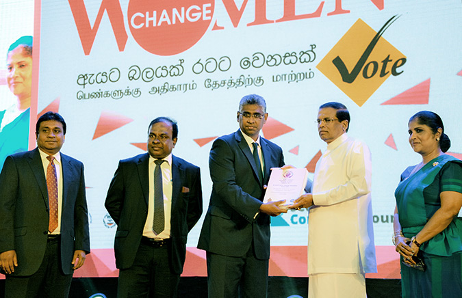 Bringing Women to the Forefront: President of Sri Lanka Launches National Campaign for Greater Women's Representation in Local Government