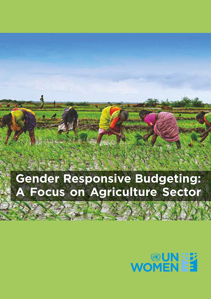 Gender Responsive Budgeting: A Focus on Agriculture Sector