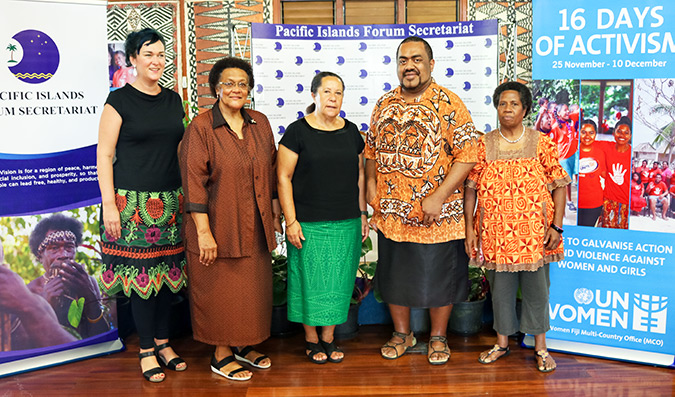 Partnerships critical in Pacific Approaches of Activism against Gender-Based Violence