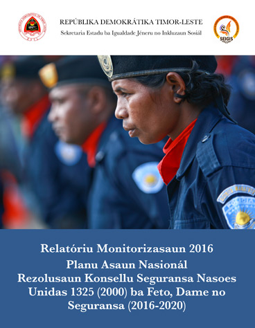 NAP 1325 Monitoring report 2016