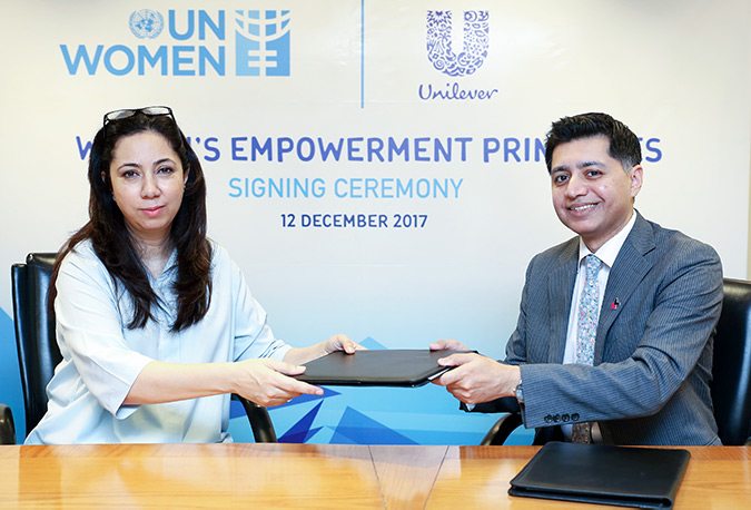 Unilever Pakistan and UN Women collaborate for the Economic Empowerment of Women