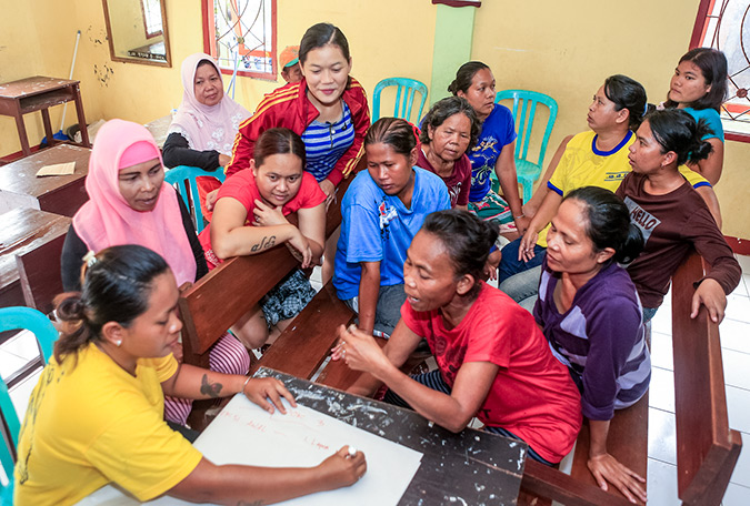 Building peace while empowering women on Indonesia's Java Island