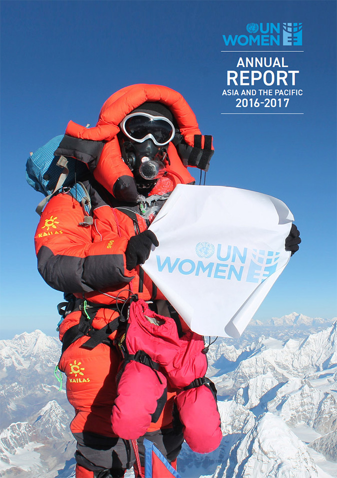 UN Women Asia and the Pacific illustrated annual report 2016–2017