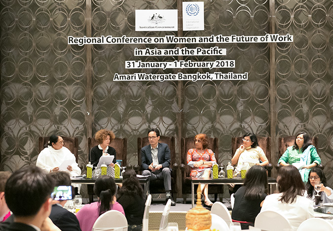 ILO, UN Women and the OECD launch International Coalition to boost equal pay for women at work in Asia and the Pacific