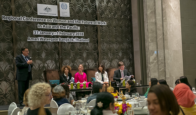 , UN Women and the OECD launch International Coalition to boost equal pay for women at work in Asia and the Pacific