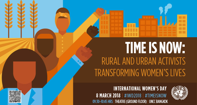 Asia-Pacific Commemoration of International Women's Day 2018