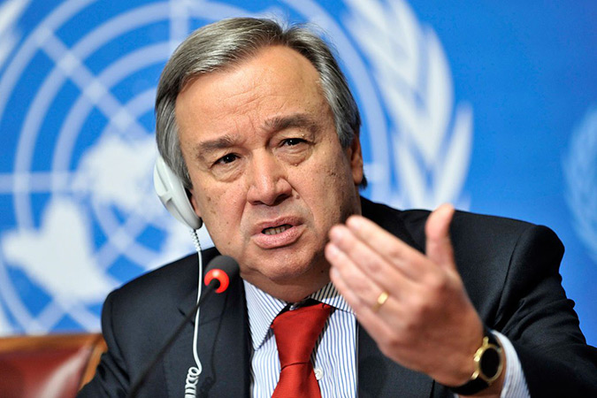 António Guterres, United Nations Secretary-General. Photo: United Nations
