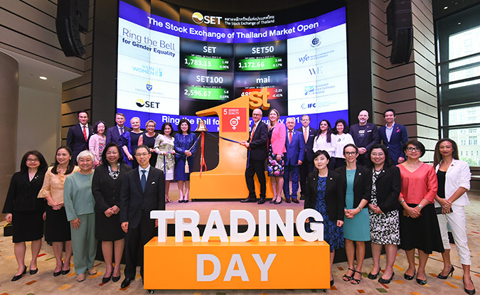 Thai stock exchanges commit to help women rise up in businesses