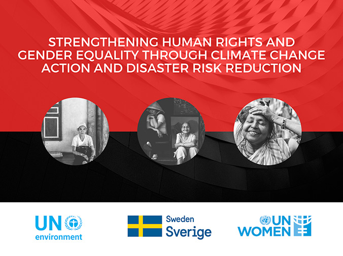Sweden joins forces with UN Environment and UN Women to build a climate resilient Asia-Pacific