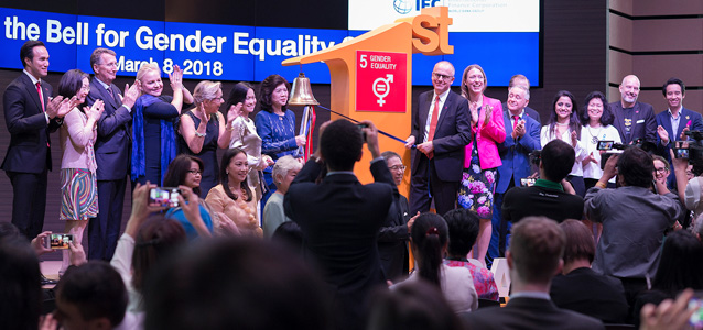 "Thailand's first ""Ring the Bell"" event highlights business case for gender equality"
