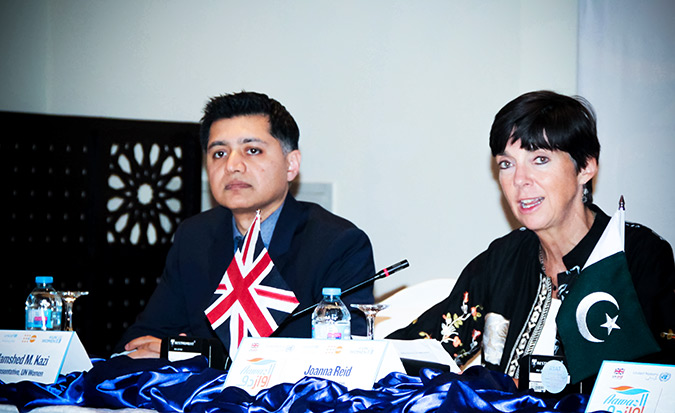 The UK and UN launch Aawaz II — programme to empower and protect Pakistan's youth, women and children