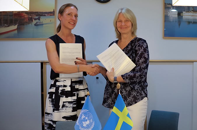 Government of Sweden pledges USD 9.6 million to enhance women's access to justice in Asia Pacific