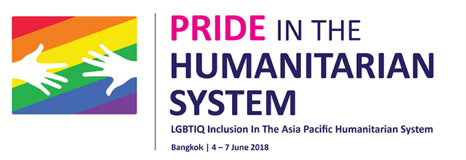Pride in the humanitarian system