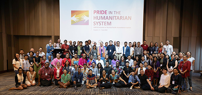 PRIDE IN THE HUMANITARIAN SYSTEM: PROMOTING INCLUSION AND RIGHTS FOR LGBTIQ PEOPLE IN DISASTER PREPAREDNESS AND RESPONSE