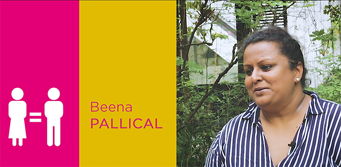 TAKE FIVE: Beena Pallical