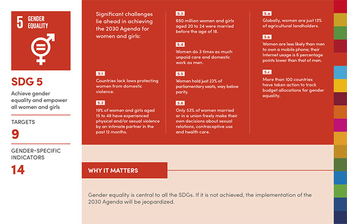 Infographic: Why gender equality matters to achieving all 17 SDGs