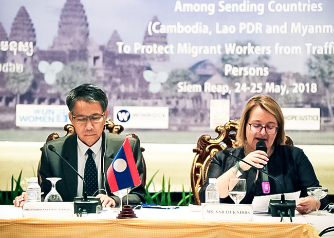 Officials of Cambodia, Lao PDR, Myanmar and Thailand recommend steps to protect migrant workers
