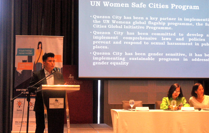 UN Women helps Metro Manila authorities as they design women-friendly public spaces