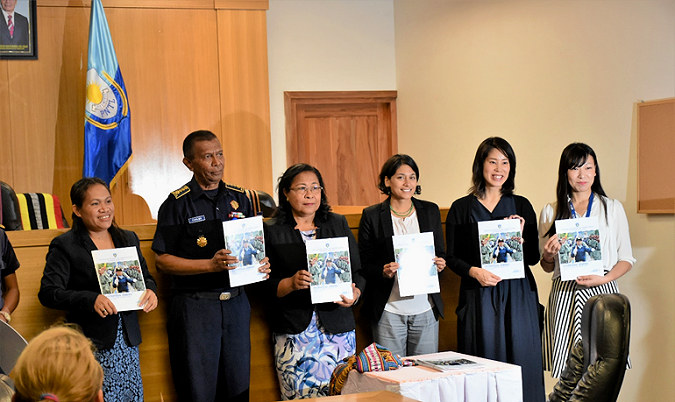 Press release: National Police of Timor-Leste is committed to promote gender equality in the institution by unveiling its first Gender Strategy for 2018-2022