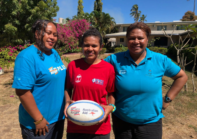 Participants Get Into Rugby 2