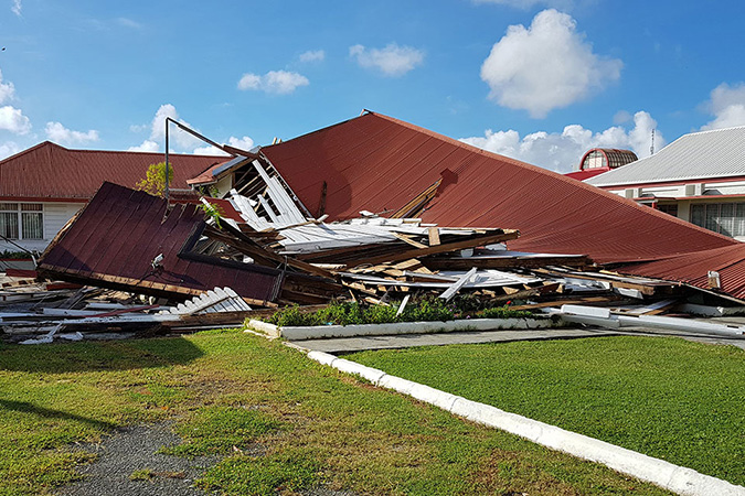 Women at the helm of cyclone recovery efforts in Tonga