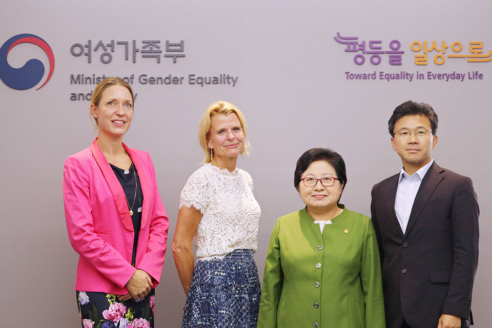 UN Women Deputy Executive Director Åsa Regnér on first official visit to the Republic of Korea