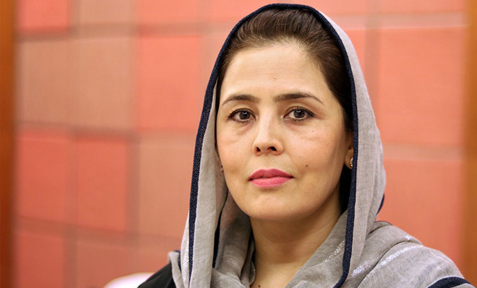 Nabila Musleh, Afghanistan's Deputy Minister of Women's Affairs. Photo: UN Women/Nangyalai Tanai