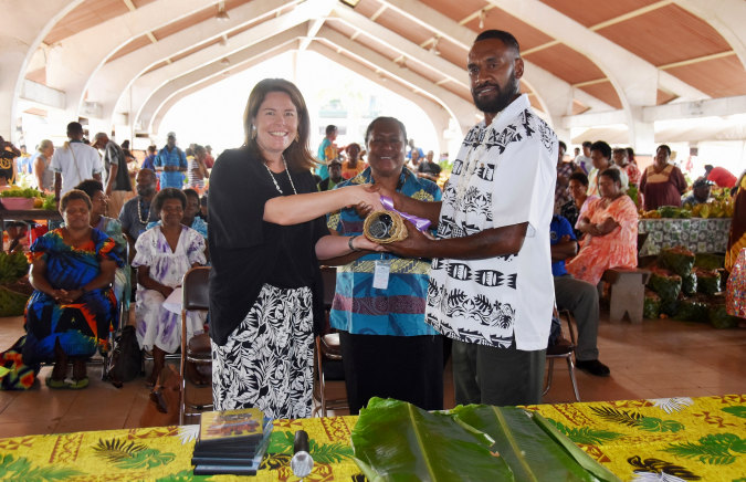 Press release: Improved Toktok at Port Vila market