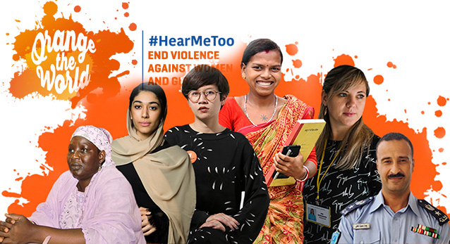 #HearMeToo: Stand in solidarity with survivors to end violence against women and girls