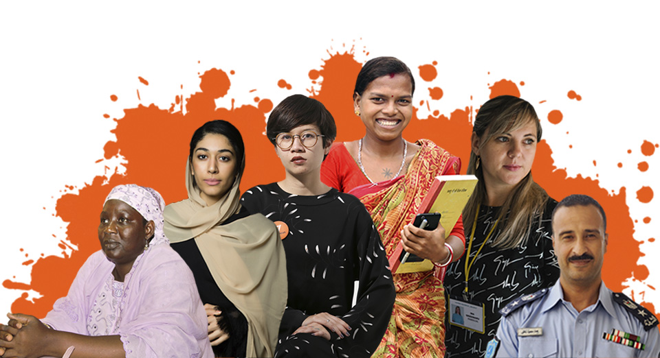 In Focus: Orange the World, #HearMeToo