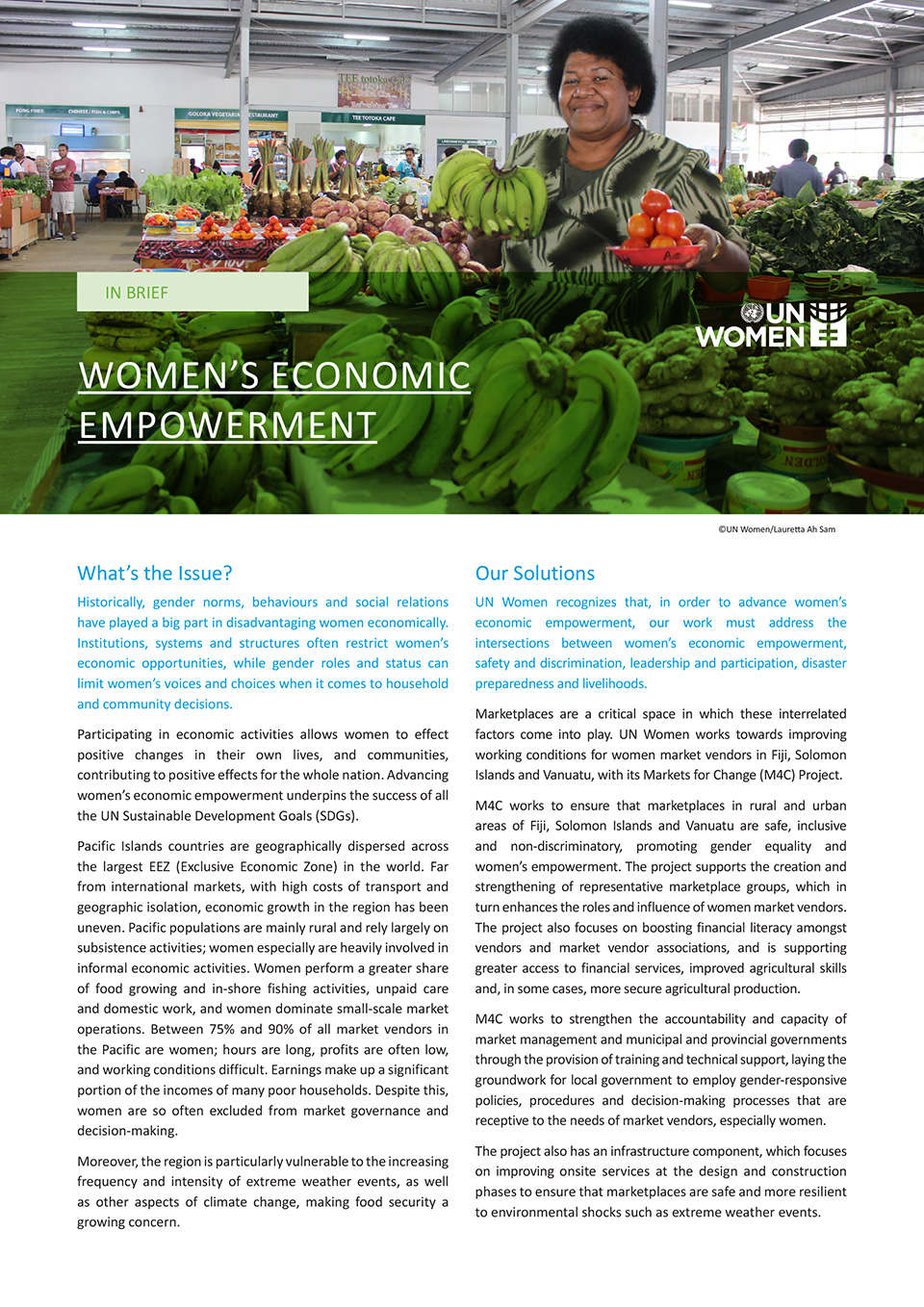 Women's Economic Empowerment