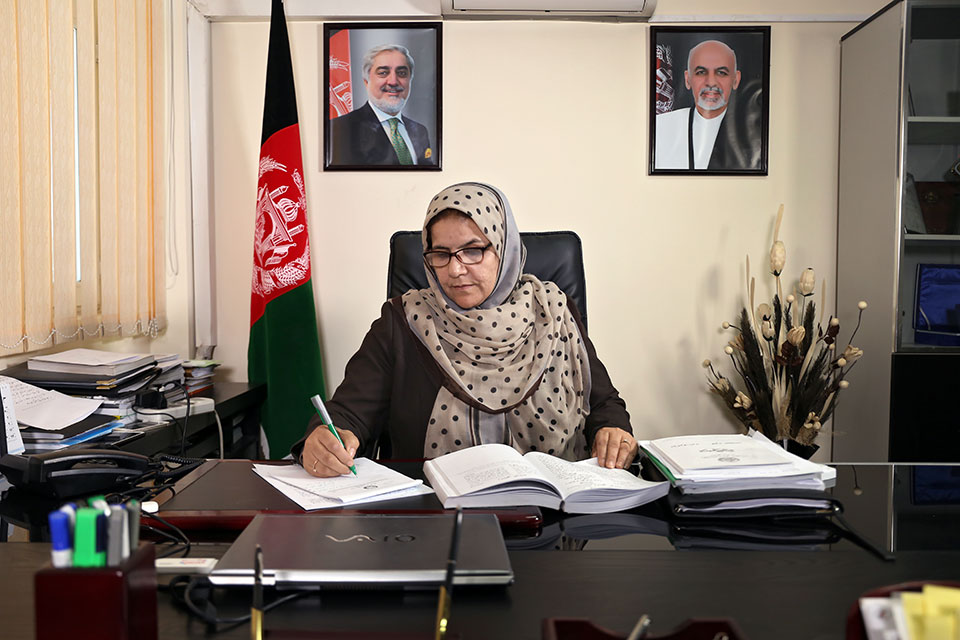 """In the words of Justice Anisa Rasooli: """"Not all women in Afghanistan are women in blue burqas begging…we can be the best engineers, doctors, judges, teachers"""""""
