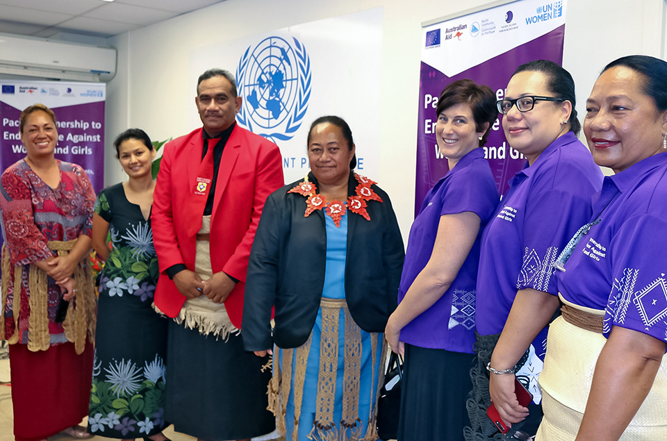 Tonga's launch of the new Pacific Partnership to End Violence Against Women and Girls