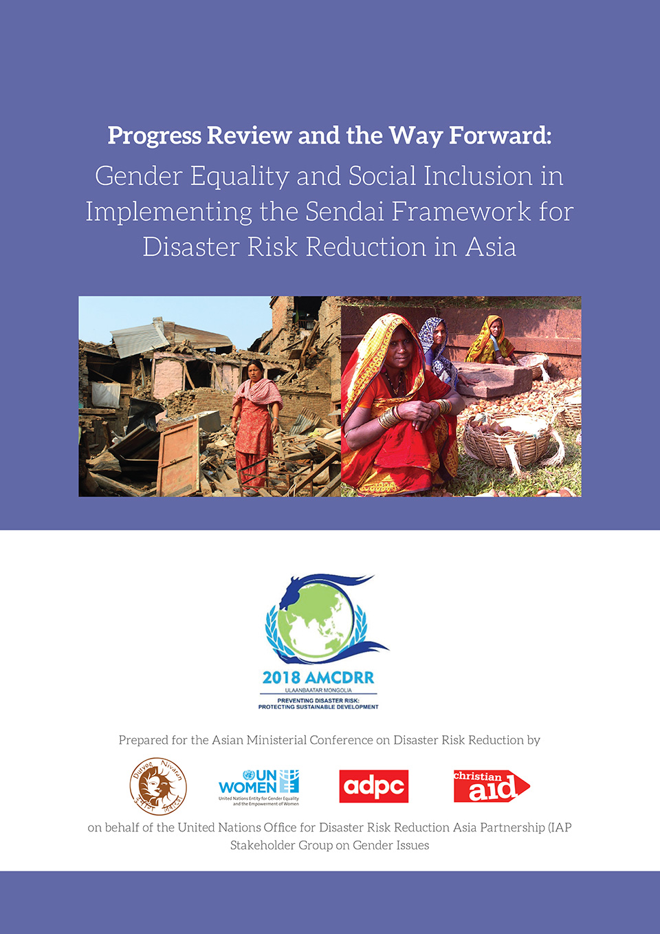 Progress Review and the Way Forward: Gender Equality and Social Inclusion in Implementing the Sendai Framework for Disaster Risk Reduction in Asia