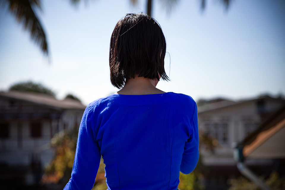 Khawng Nu, now 24, was duped by a woman from her rural village in Myanmar, who sent her to a birth trafficking ring in China. Photo: UN Women/Stuart Mannion