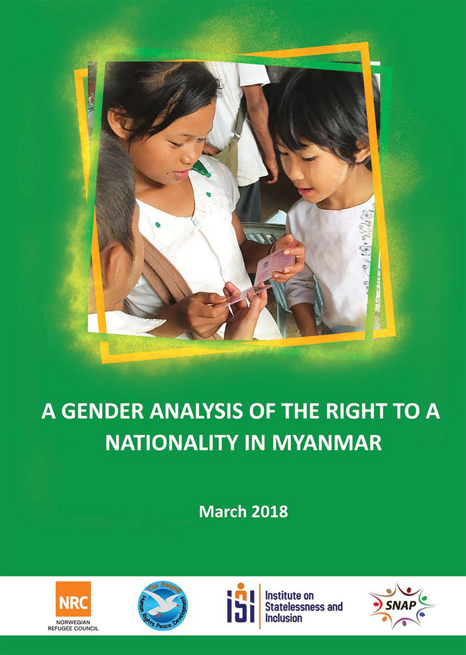 Report: A Gender Analysis of the Right to a Nationality in Myanmar