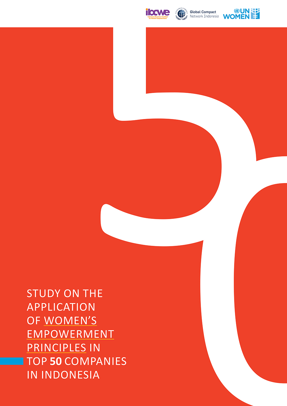 Study on the Application of Women's Empowerment Principles in Top 50 Companies in Indonesia
