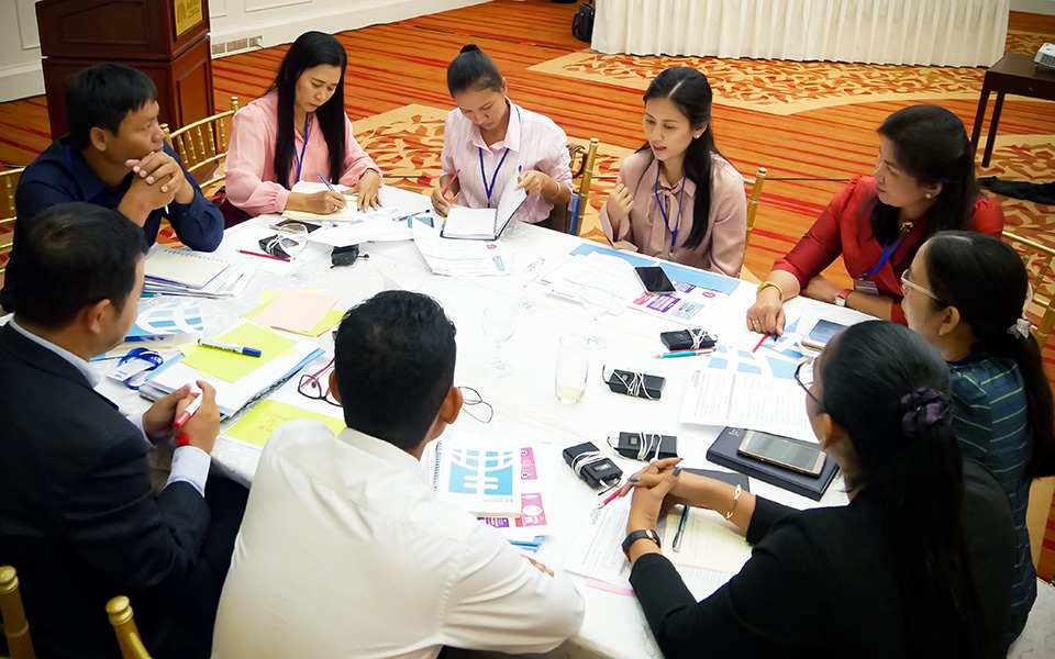 UN Women promotes use of gender statistics for sustainable development in Cambodia