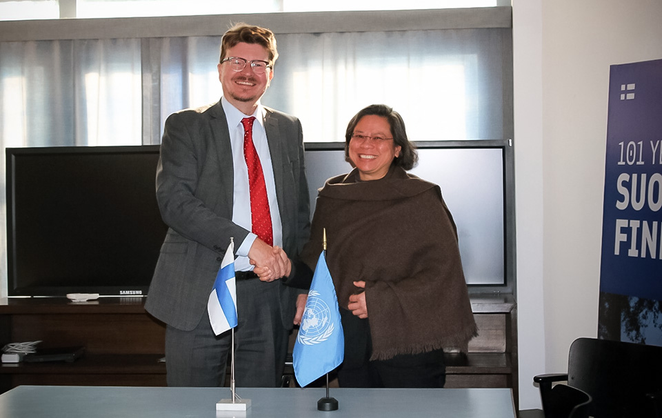 Government of Finland provides 4 million EUROS (NPR 514 million) to advance gender equality and women's empowerment in Nepal through UN Women