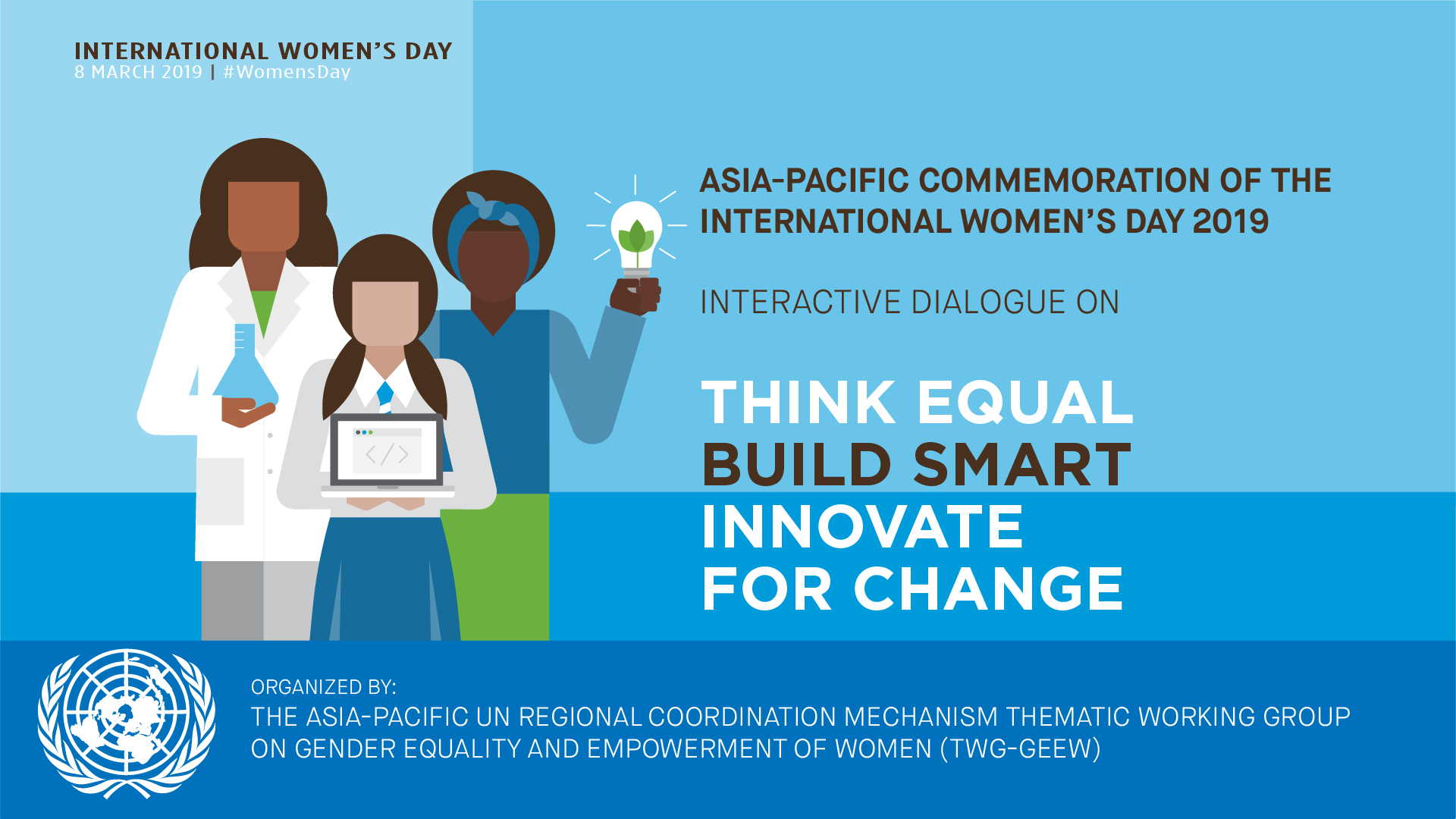 Start-ups and innovators who advance gender equality in the spotlight  at Asia-Pacific commemoration of International Women's Day 2019