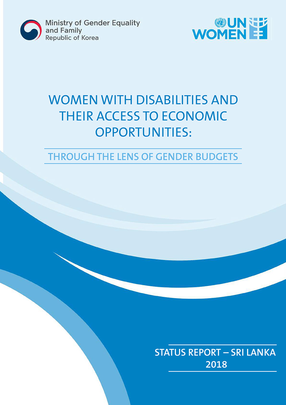 Women with Disabilities and Their Access to Economic Opportunities: Through the Lens of Gender Budgets