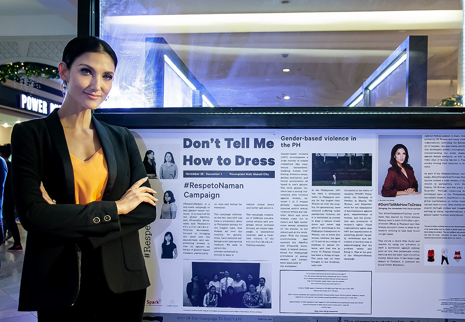 """""""Don't Tell Me How To Dress"""": How a clothing exhibition is challenging the culture of victim-blaming in the Philippines"""