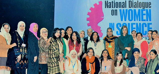 National Dialogue to promote women and girls participation in science