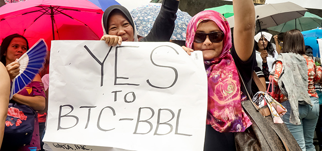 Passage of the Bangsamoro Organic Law promises new hope for women in Southern Philippines