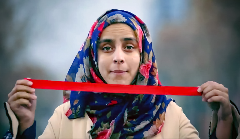 #MyRedLine – A social movement cataloguing where Afghan's stand on women's rights and peace