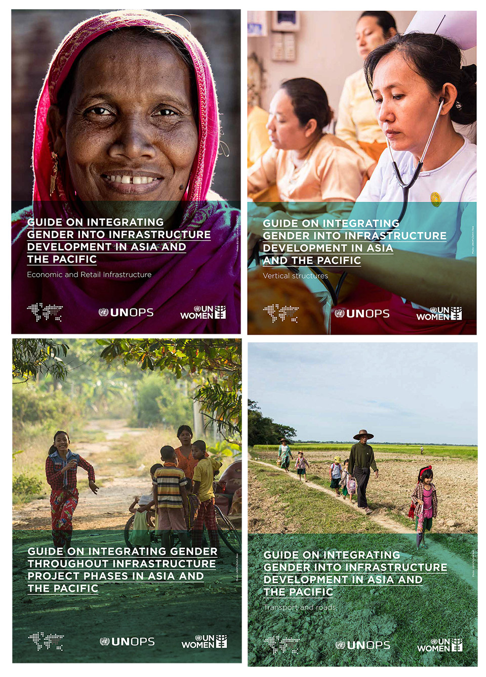 Guides on integrating gender into infrastructure development in Asia and the Pacific