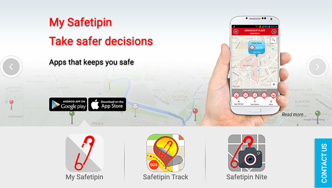 My Safetipin: Personal Safety & Women Safety App