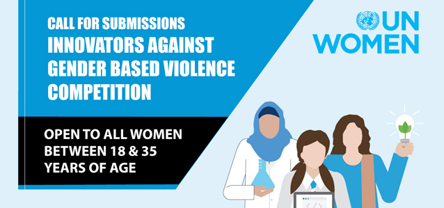 CALL FOR SUBMISSIONS | INNOVATORS AGAINST GENDER BASED VIOLENCE AWARD
